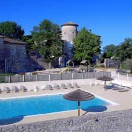 Cour Château - Location de vacances - Ruoms