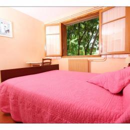 Chambre double - Location de vacances - Vogüé