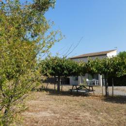 chambre lit 140 - Location de vacances - Lablachère