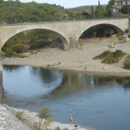 Chambre parents - Location de vacances - Balazuc