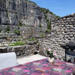 coin cuisine - Location de vacances - Balazuc