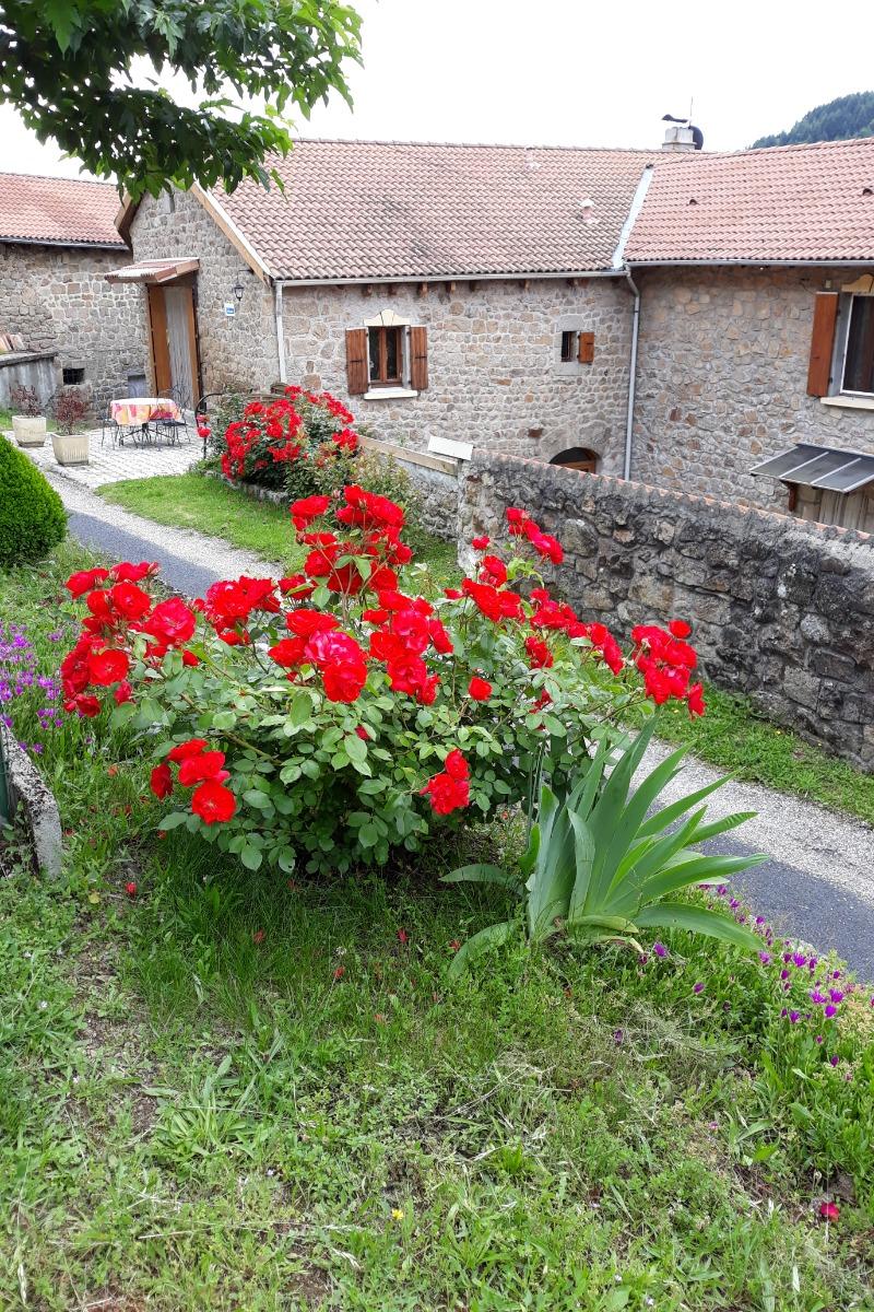 entrée du gite - Location de vacances - Saint-Michel-d'Aurance
