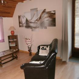 chambre mezzanine - Location de vacances - Saint-Michel-d'Aurance