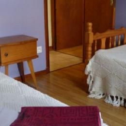 chambre 2 lits de 90 - Location de vacances - Saint-Alban-Auriolles