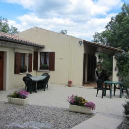 Terrasse - Location de vacances - Saint-Alban-Auriolles