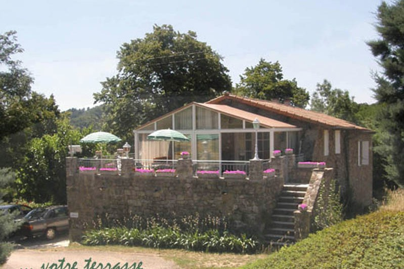 Votre terrasse - Location de vacances - Meyras