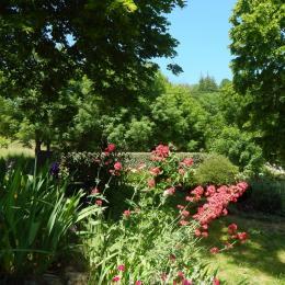 Les ombrages du jardin - Location de vacances - Meyras