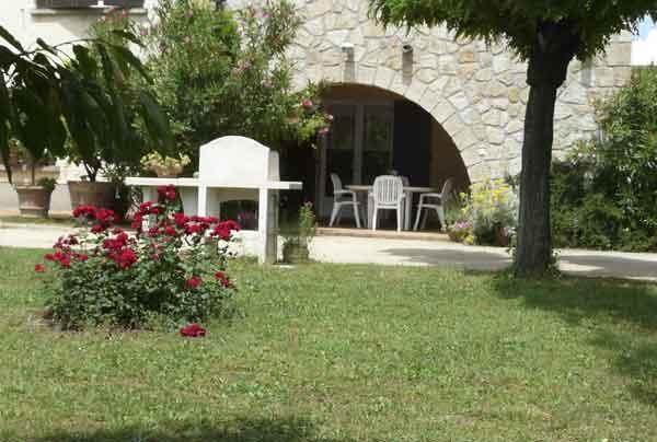 Terrasse couverte  - Location de vacances - Aubenas