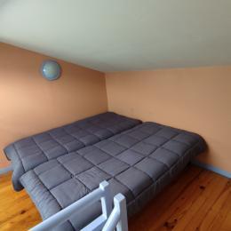 2 lits jumeaux sur la mezzanine - Location de vacances - Montréal