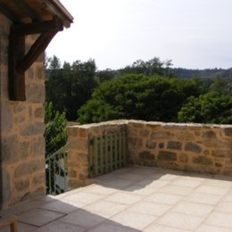 Terrasse - Location de vacances - Les Assions