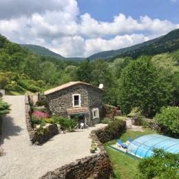 La maison d'hôtes - Location de vacances - Rochessauve