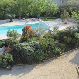 La piscine - Location de vacances - Vogüé