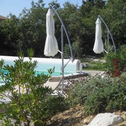 La piscine du Mas de Molines - Chambre d'hôtes - Vogüé