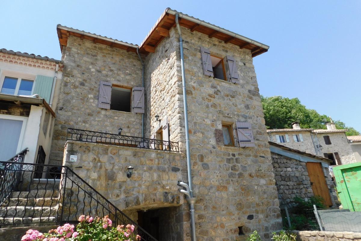 Salle à manger - Location de vacances - Montpezat-sous-Bauzon