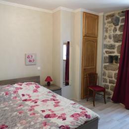 maison de village en pierres appararentes - La façade - Location de vacances - Montpezat-sous-Bauzon