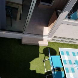 Agréable terrasse cosy - Location de vacances - Vogüé