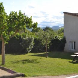 Espace vert - Location de vacances - Vallon-Pont-d'Arc