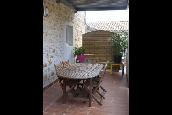 Terrasse - Location de vacances - Vallon-Pont-d'Arc