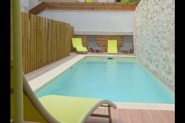 Piscine - Location de vacances - Vallon-Pont-d'Arc