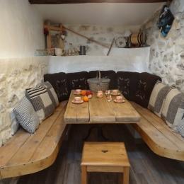 gite Ardèche- la Bergerie des Etoiles- grande chambre - Location de vacances - Lussas