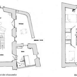 Plan du gite - Location de vacances - Laboule