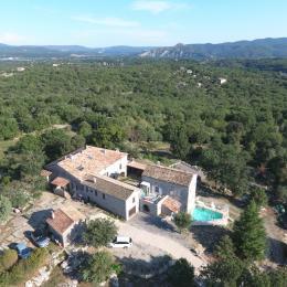 Le Magnan -  La piscine - Location de vacances - Labeaume
