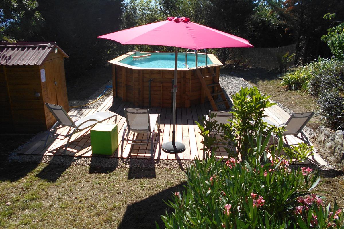 piscine - Location de vacances - Berrias-et-Casteljau