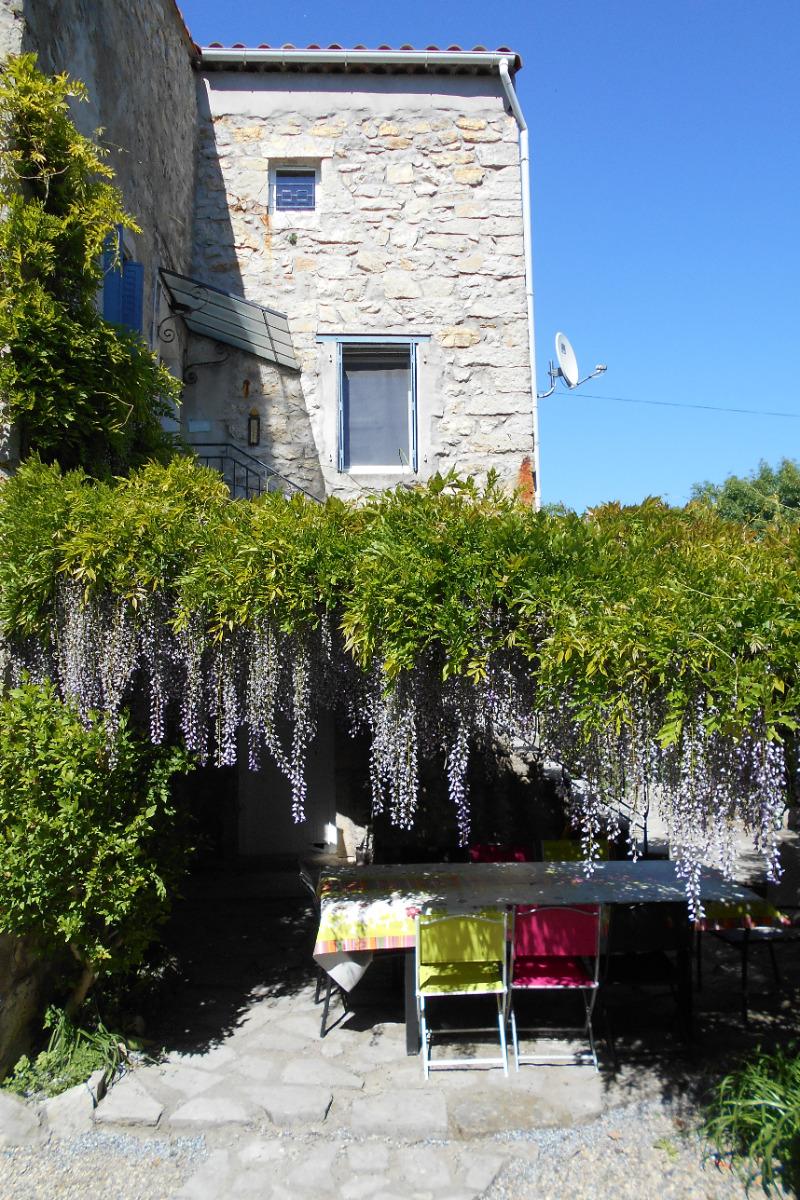 chambre 1 - Location de vacances - Berrias-et-Casteljau