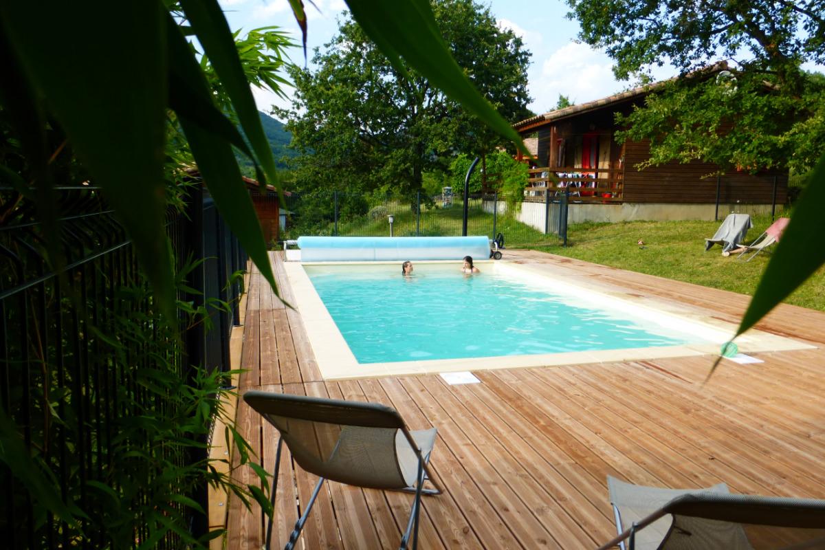 piscine, pataugeoire, bain nordique - Location de vacances - Darbres
