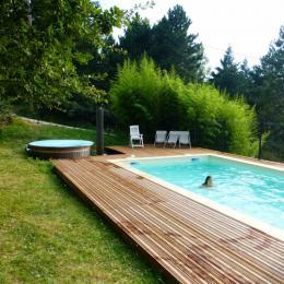 PISCINE CHAUFFÉE - Location de vacances - Darbres