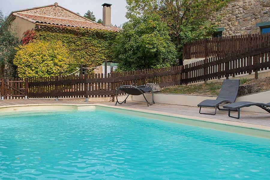 Piscine - Location de vacances - Boffres