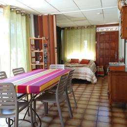 Chambre 2 lit en 140 x 190Banquette-lit 80 x 190:  Télévision Rajout d'un lit bébé possible - Location de vacances - Les Ollières-sur-Eyrieux