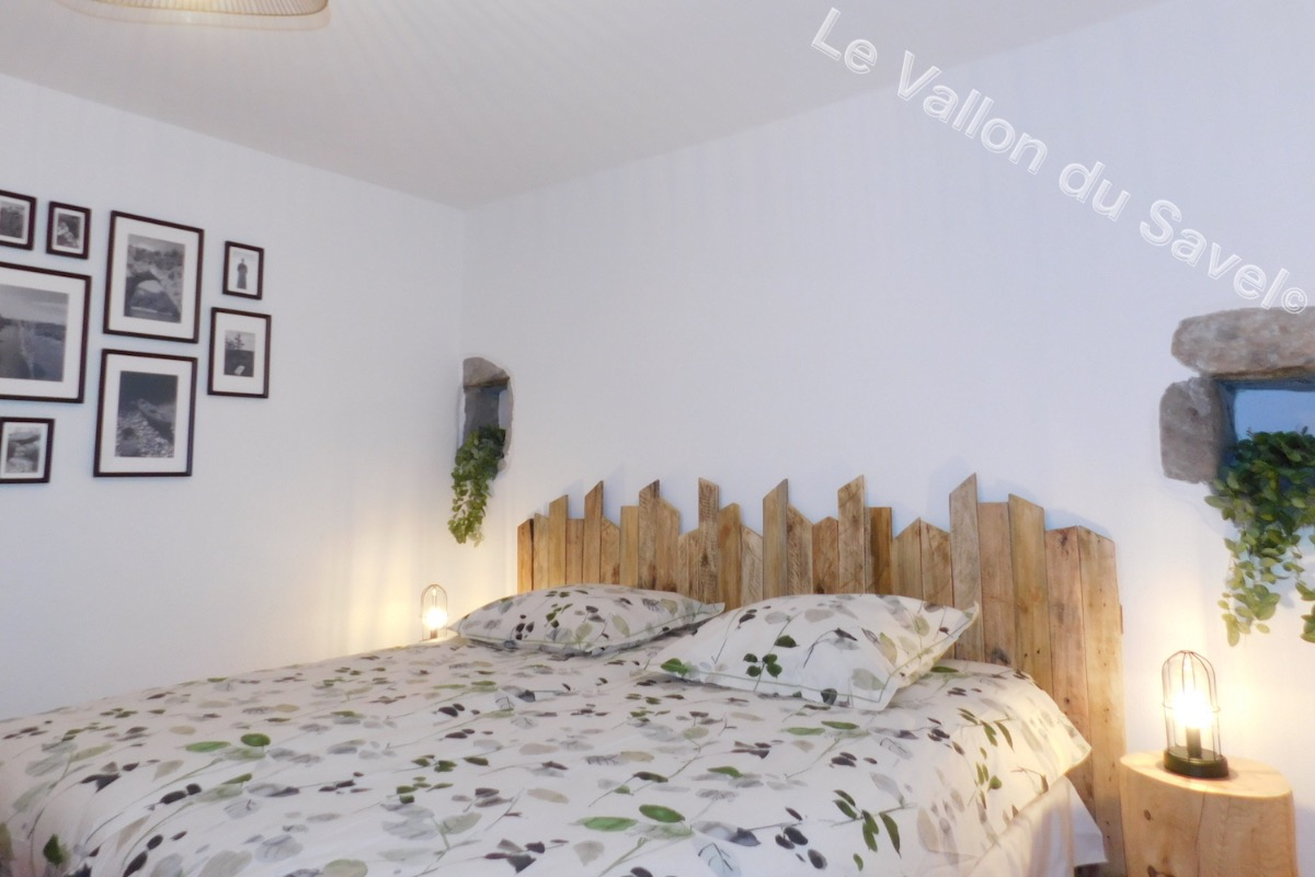 La chambre parentale - Location de vacances - Pradons