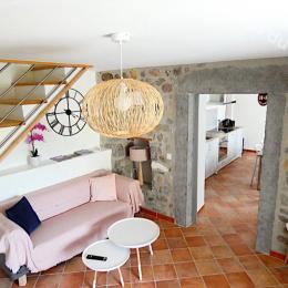 Le salon tout confort - Location de vacances - Pradons