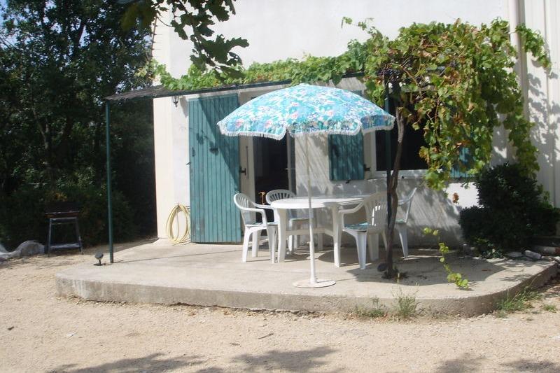 La terrasse - Location de vacances - Gras