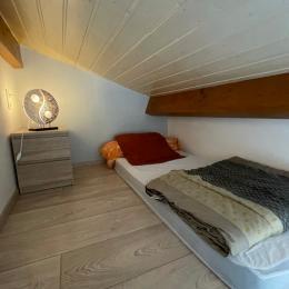 Chambre double - Location de vacances - Joyeuse
