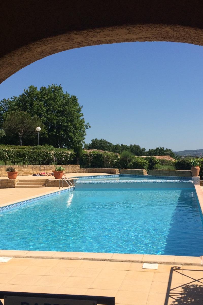 Piscine de la Copropriété - Location de vacances - Saint-Martin-d'Ardèche