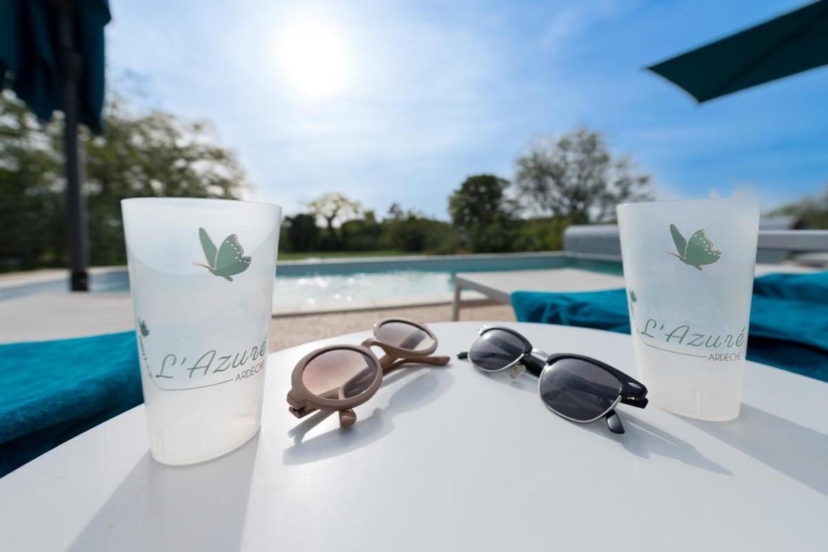 Le jardin © Val d'Art'dèche Photographie - Location de vacances - Saint-Remèze