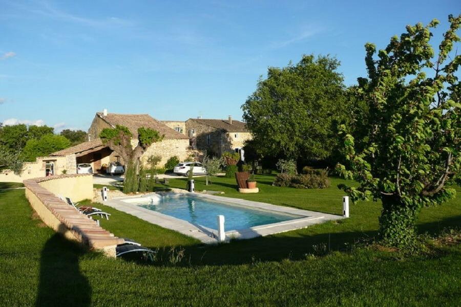 Le Mas de la Borne - piscine privée - Location de vacances - Saint-Montan