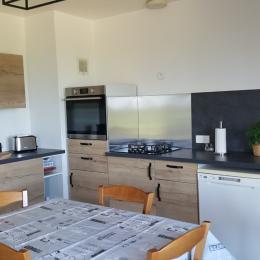 Le salon séjour - Location de vacances - Gravières
