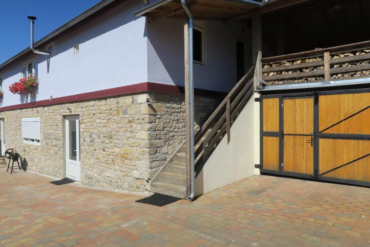 Salle d'entrée du gîte - Location de vacances - Vitrey-sur-Mance