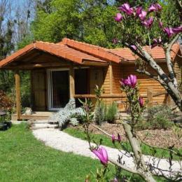 Loriot - chalet en Bresse dans résidence avec étangs et baignade - Location de vacances - Le Fay