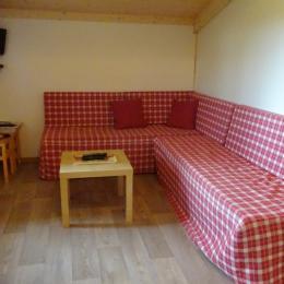 Les Chalets du Pontot - Le sarcelle - salon - Location de vacances - Le Fay