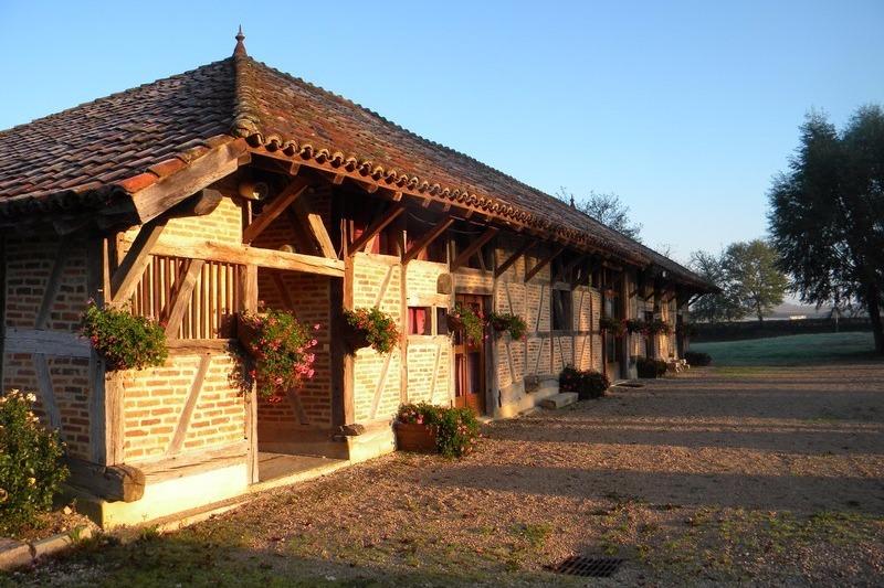 La Grange Rouge façade Est - Location de vacances - La Chapelle-Naude