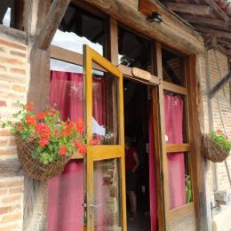 Entrée du Gîte - Location de vacances - La Chapelle-Naude
