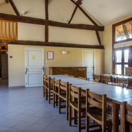 Salle à manger du gîte - Location de vacances - La Chapelle-Naude