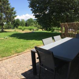 La terrasse - Location de vacances - Flacey-en-Bresse