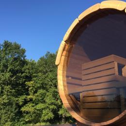 La sauna - Location de vacances - Flacey-en-Bresse