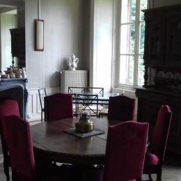 gîte du Château - Grand Séjour étage - Location de vacances - Joudes