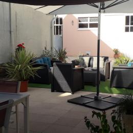 salon de jardin - Chambre d'hôtes - Laigné-en-Belin